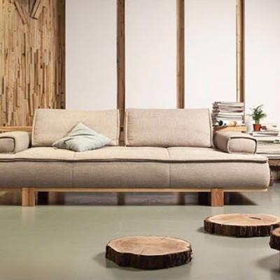 幕友DAaZ北欧原创个性白蜡沙发原生态木蜡油香河专卖店