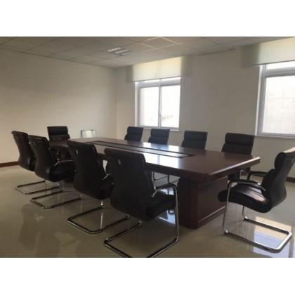 香河派格办公家具、3.8米会议桌