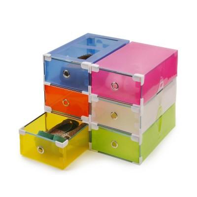 半透明抽屉式鞋盒 收纳盒