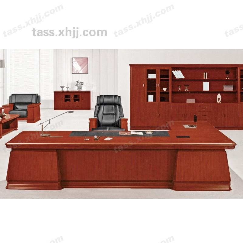 北京泰安盛世实木油漆大班台 经理主管老板桌