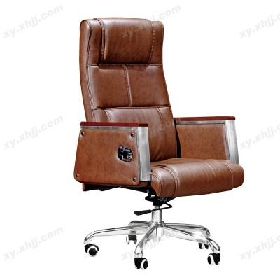高级真皮老板椅 办公椅