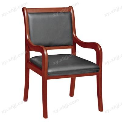 四脚扶手会议椅
