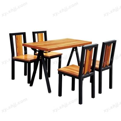 食堂餐桌椅 分体餐桌椅