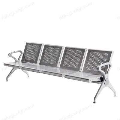 河北富都华创4人位不锈钢排椅机场椅04