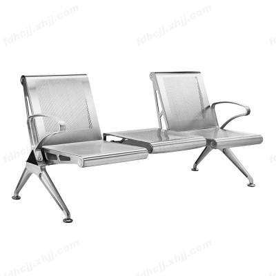 河北加厚型二人位带茶几公共休闲连体椅03