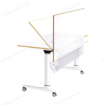 河北富都华创小型会议桌 移动折叠培训桌07