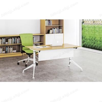 河北富都华创翻转式移动钢木办公桌06