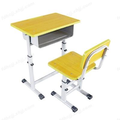 河北富都华创单柱单层单人升降课桌椅14