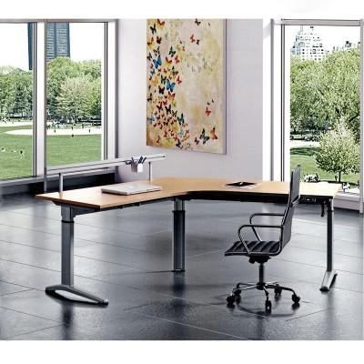河北富都华创现代拐角升降桌桌架05