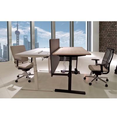 河北富都华创员工办公升降桌桌架06