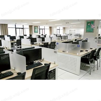 河北富都华创多媒体教室电脑桌24
