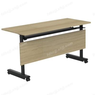河北带滑轮折叠阅览桌12