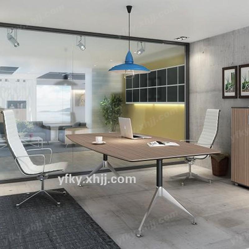 香河银丰科艺简约现代板式会议桌办公桌