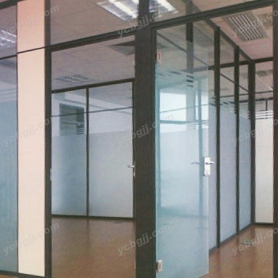 北京泰源益成兴盛玻璃隔墙办公室装修玻璃07