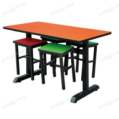 小吃店简约餐台椅15北京泰源益成兴盛餐桌椅