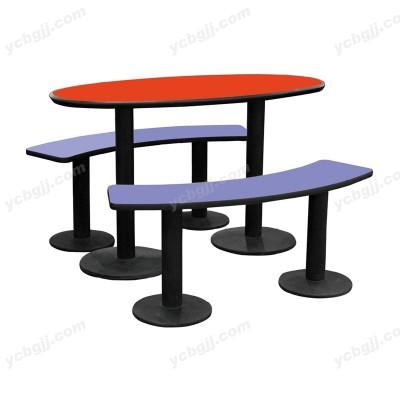 分体快餐桌椅14北京泰源益成兴盛餐桌椅