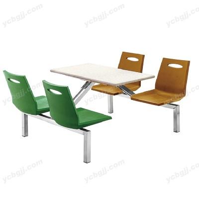 北京泰源益成兴盛钢架食堂餐桌椅10