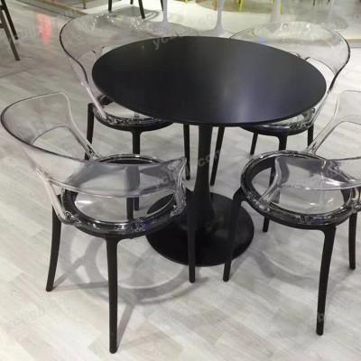 北京泰源益成兴盛钢化玻璃圆桌面洽谈桌椅33