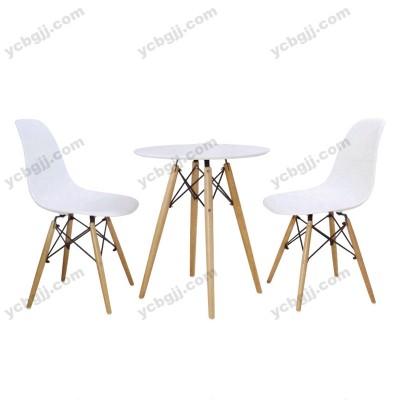 北京泰源益成兴盛简约休闲洽谈椅塑料桌椅25