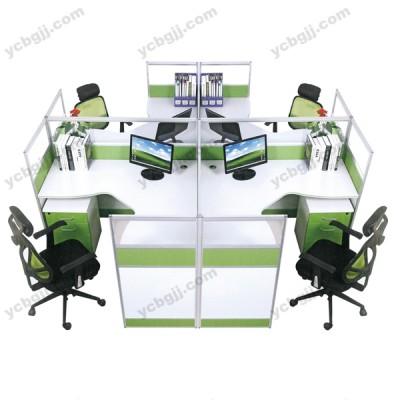 员工组合桌 屏风办公桌05