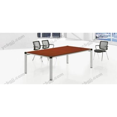簡約現代會議桌 18 鋼架接待會議桌