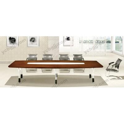 板式油漆洽談桌 實木大型會議桌 15