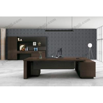 现代老板桌 01 简约办公板式大班台