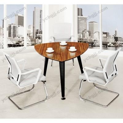 现代洽谈三角桌38 板式小会议桌