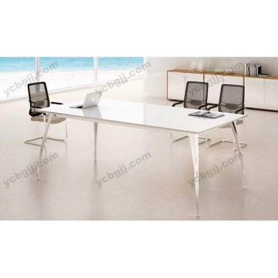 北京板式会议桌 白色长桌36