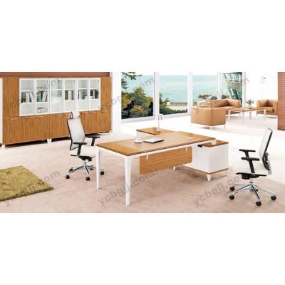 板式办公家具 21 简约时尚经理台