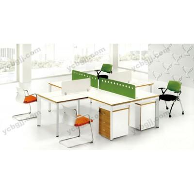 多人位屏风组合办公桌 员工电脑桌21