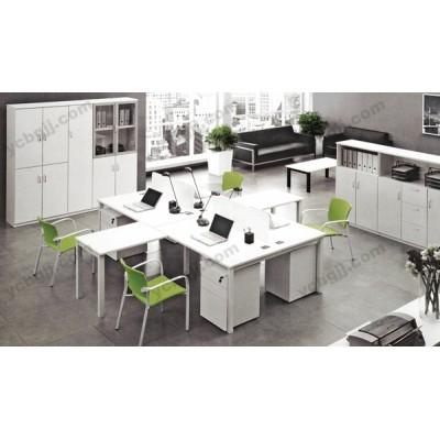 职员办公桌 员工电脑桌 隔断桌19
