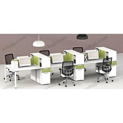 多人位屏风组合办公桌14 员工电脑桌