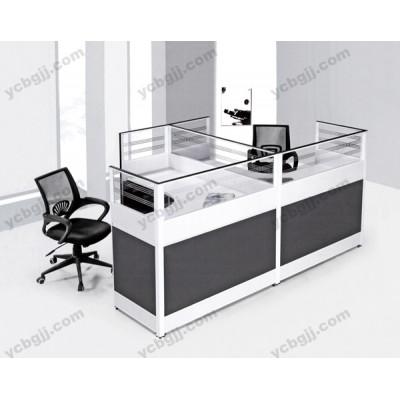 组合办公桌 屏风隔断电脑桌08