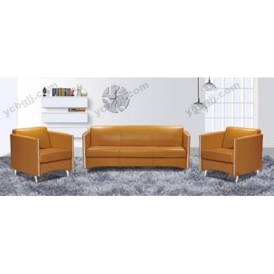 现代皮艺办公沙发 商务会客沙发19