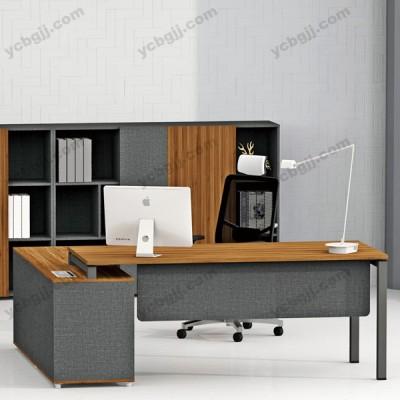 简约钢架板式办公台 经理老板主管桌 13