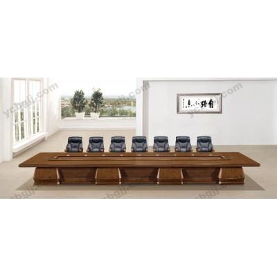 實木會議桌 03 油漆高檔大型會議桌