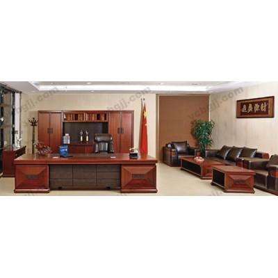 高档大班台 老板桌 11 办公油漆实木主管桌