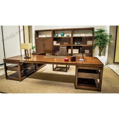北京泰源益成兴盛 05 油漆大班台 实木老板办公桌