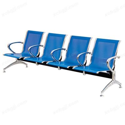 4人位电镀机场椅 铁连体排椅10