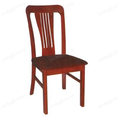 餐厅实木餐椅 酒店靠背餐椅20