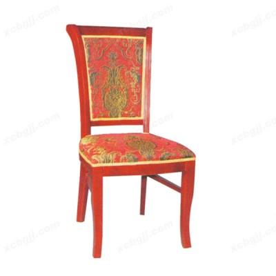 简欧餐椅 酒红色餐椅15