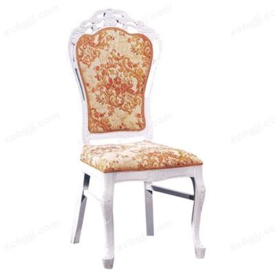 欧式奢华蒙布餐椅 布艺椅13