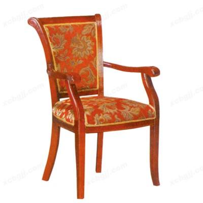 中泰昊天酒店软座餐椅 实木餐椅09