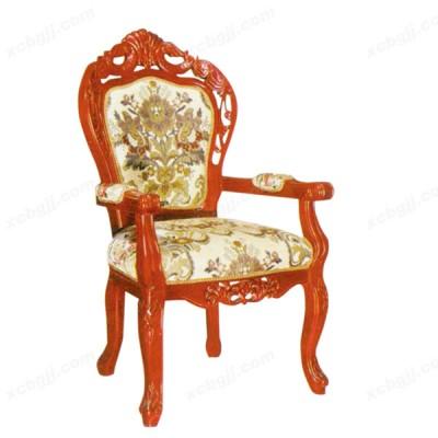酒店高档餐椅 实木雕刻餐椅 03