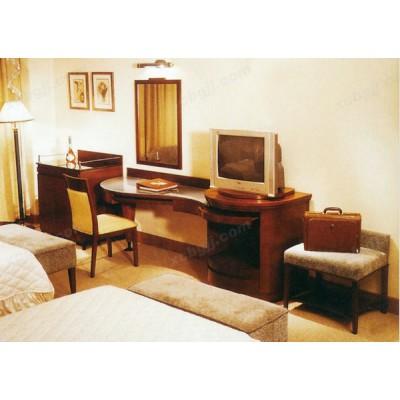 酒店标准间套房家具03
