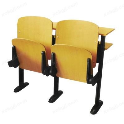 多媒体教室连排椅 学校课桌椅07