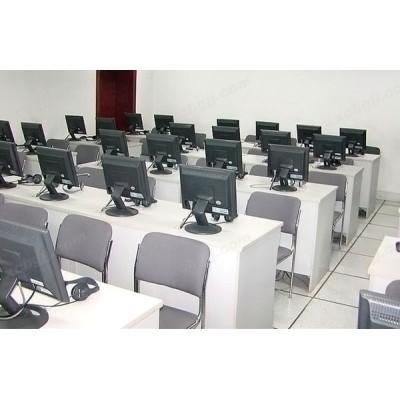 电脑机房 多媒体教室桌05