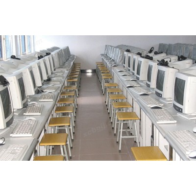 中泰昊天办公家具电脑机房 微机室桌02