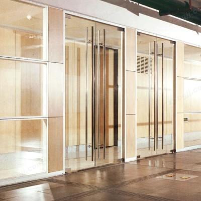 办公玻璃高隔间11 办公室隔断墙